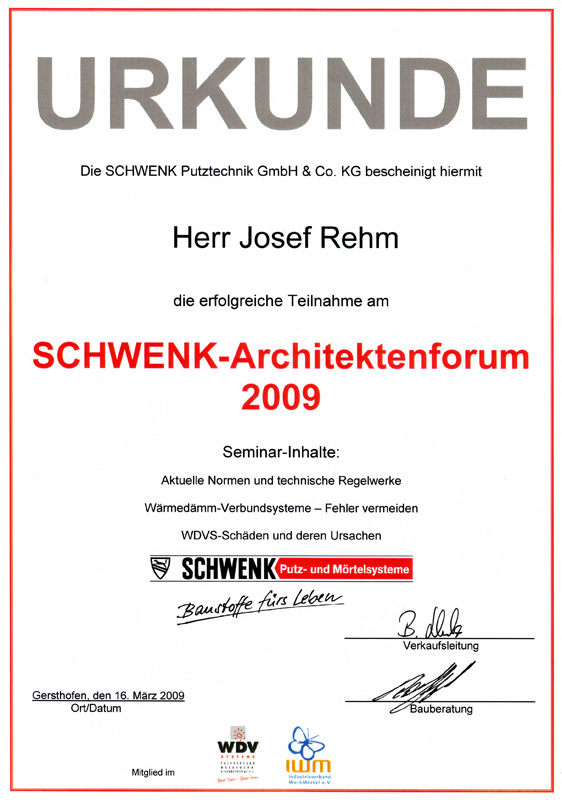 zertifikat 6 schwenk architektenforum